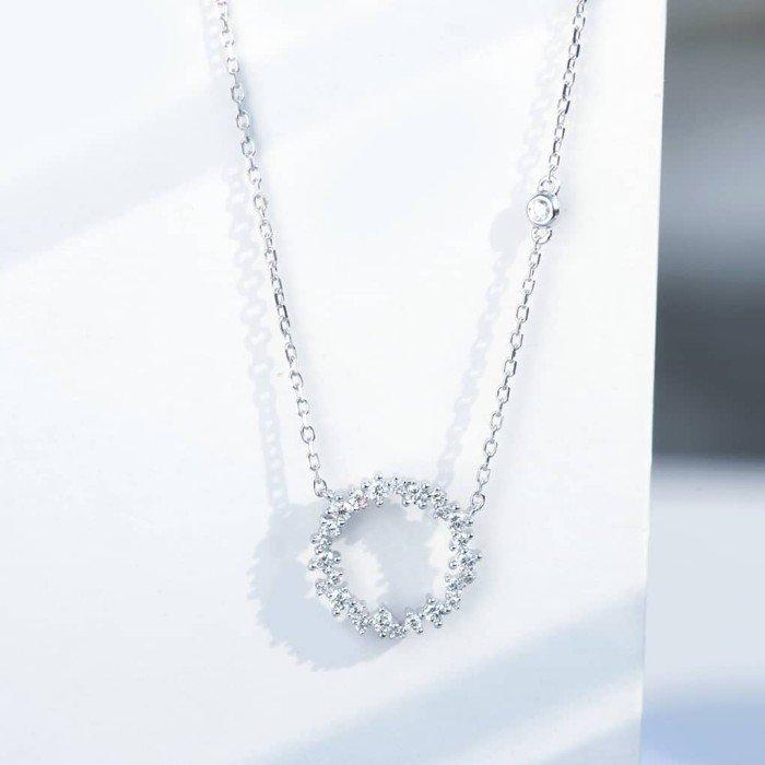 傳說18K金鑽石項鍊