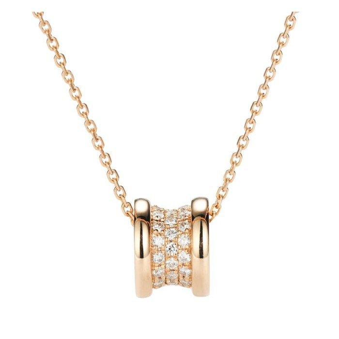 小蠻腰18K金鑽石項鍊
